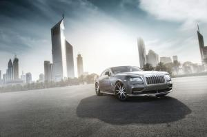 Rolls-Royce Wraith by Ares Performance 2015 года