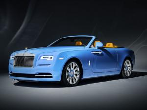 Rolls-Royce Dawn Cabriolet in Bespoke Blue 2016 года