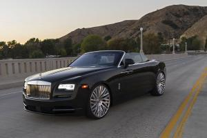 Rolls-Royce Dawn on Forgiato Wheels (Provette) 2016 года