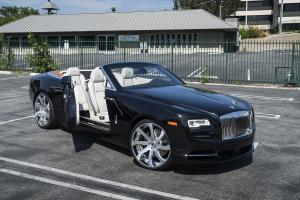 Rolls-Royce Dawn on Forgiato Wheels (Quattresimo-ECL) 2016 года