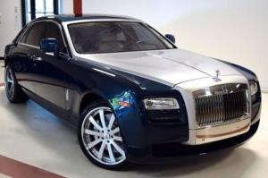 2016 Rolls-Royce Ghost on Forgiato Wheels (Concavo)