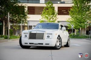 Rolls-Royce Phantom Drophead Coupe by EVS Motors on Vossen Whells (VPS-312) 2016 года