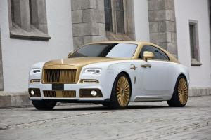 Rolls-Royce Wraith Palm Edition 999 by Mansory 2016 года