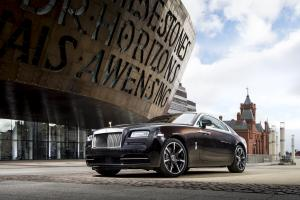 2017 Rolls Royce Wraith Inspired by British Music Dame Shirley Bassey