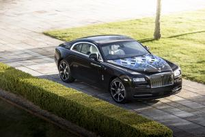 2017 Rolls Royce Wraith Inspired by British Music Tommy Car