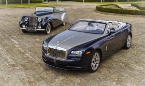 Rolls-Royce Dawn Homage Coach Line 2017 года