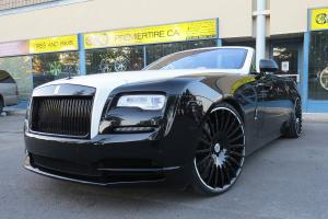 Rolls-Royce Dawn on Forgiato Wheels (Disegno-ECl) 2017 года