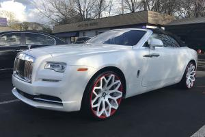 Rolls-Royce Dawn on Forgiato Wheels (Drea-ECl) 2017 года