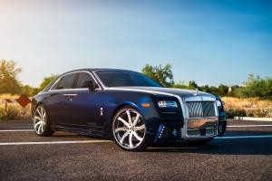 Rolls-Royce Ghost on Forgiato Wheels (Quattresima-ECL)