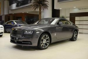 Rolls-Royce Wraith Bespoke in Anthracite 2017 года