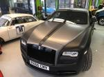 Rolls-Royce Wraith Black Matt by Print Tech 2017 года