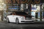 Rolls-Royce Wraith Candy Apple Red by MC Customs on Forgiato Wheels (Undice-ECL) 2017 года