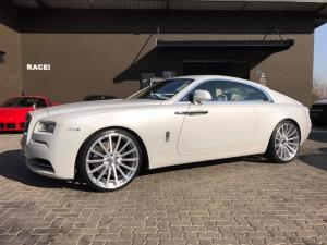 Rolls-Royce Wraith Matte White by RACE!