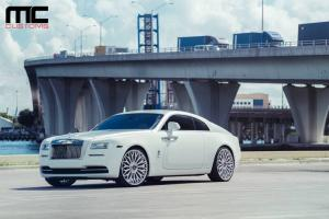 Rolls-Royce Wraith by MC Customs on AG Wheels 2017 года
