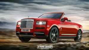 2018 Rolls-Royce Cullinan Drophead Coupe by X-Tomi Design