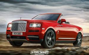 Rolls-Royce Cullinan Drophead Coupe by X-Tomi Design 2018 года