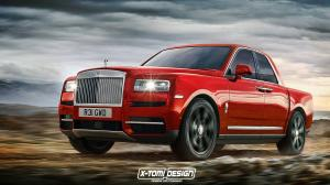 2018 Rolls-Royce Cullinan Pickup by X-Tomi Design