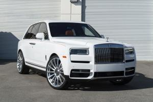 2018 Rolls-Royce Cullinan by Champion Motoring on Forgiato Wheels (Piatto-M)