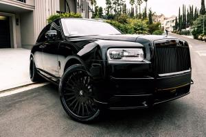 Rolls-Royce Cullinan by Platinum Motorsport on Forgiato Wheels (Disegno) 2018 года