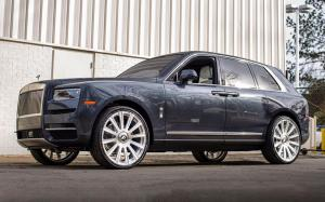 Rolls-Royce Cullinan on Forgiato Wheels (Lavorato-M) 2018 года