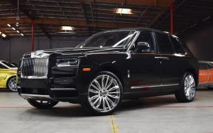 Rolls-Royce Cullinan on Forgiato Wheels (Montare-ECL) 2018 года