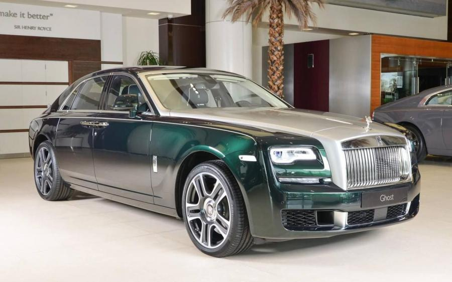 Rolls-Royce Ghost Dark Emerald by Abu Dhabi Motors