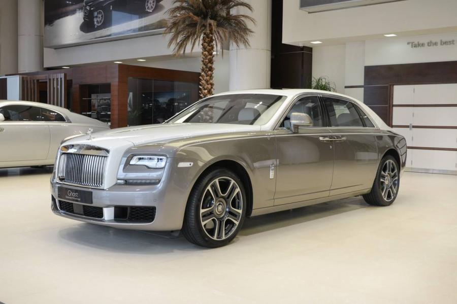 Rolls-Royce Ghost EWB Inspired by Islamic Art by Abu Dhabi Motors