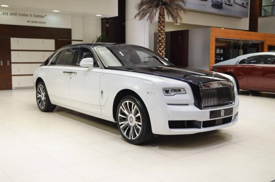 Rolls-Royce Ghost EWB Inspired by Private Jet by Abu Dhabi Motors