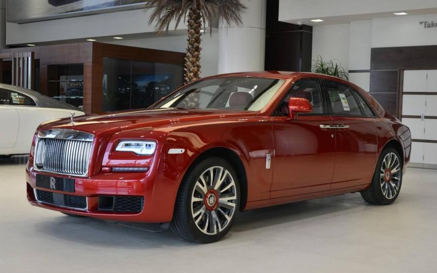 Rolls-Royce Ghost Magma Red by Abu Dhabi Motors