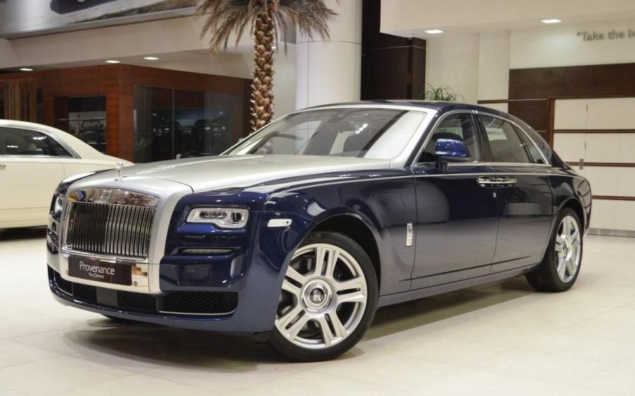 Rolls-Royce Ghost Provenance in Royal Blue by Abu Dhabi Motors