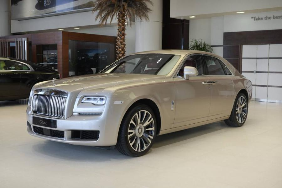 Rolls-Royce Ghost White Sands by Abu Dhabi Motors