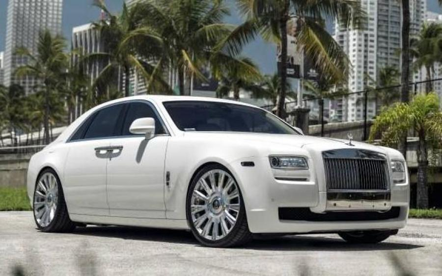 Rolls-Royce Ghost by MC Customs on Avant Garde Wheels