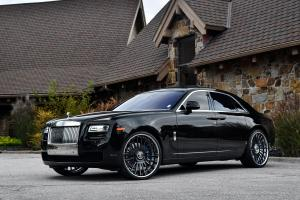 2018 Rolls-Royce Ghost on Forgiato Wheels (Disegno)