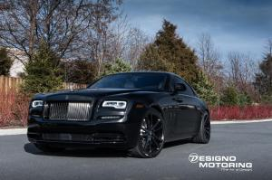 2018 Rolls-Royce Wraith by Designo Motoring on Vossen Wheels (CG-203)
