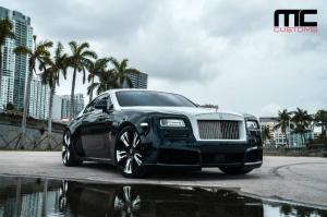 2018 Rolls-Royce Wraith by Novitec Rosso and MC Customs