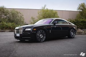 2018 Rolls-Royce Wraith by SR Auto Group on HRE Wheels (RS37.V2)