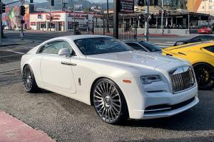 2018 Rolls-Royce Wraith on Forgiato Wheels (Disegno-M)