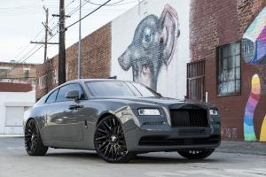 Rolls-Royce Wraith on Forgiato Wheels (Provette-M) 2018 года