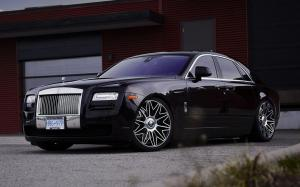 Rolls Royce Ghost by SR Auto Group on PUR Wheels (RS37.V2) 2019 года