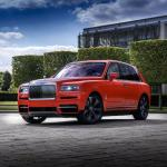 Rolls-Royce Cullinan Fux Orange 2019 года