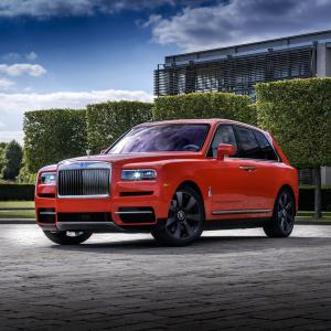 2019 Rolls-Royce Cullinan Fux Orange