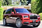 Rolls-Royce Cullinan Magma Red on Forgiato Wheels (Blocco-ECL) 2019 года