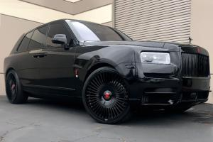 Rolls-Royce Cullinan on Forgiato Wheels (Cablata-M) 2019 года