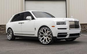 Rolls-Royce Cullinan on Forgiato Wheels (Drea-ECL) 2019 года