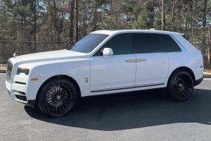 Rolls-Royce Cullinan on Forgiato Wheels (TEC 3.1) 2019 года