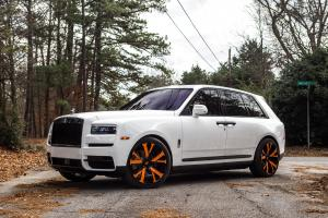 2019 Rolls-Royce Cullinan on Forgiato Wheels (Vlone-ECL)