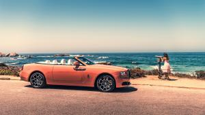 2019 Rolls-Royce Dawn Black Badge Pebble Beach Collection Coral Solid