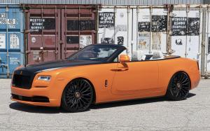 2019 Rolls-Royce Dawn by RDB LA on Forgiato Wheels (NB6-ECL)