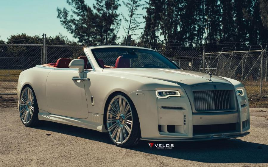 Rolls-Royce Dawn by Wald on Velos Wheels (CRS15) '2019