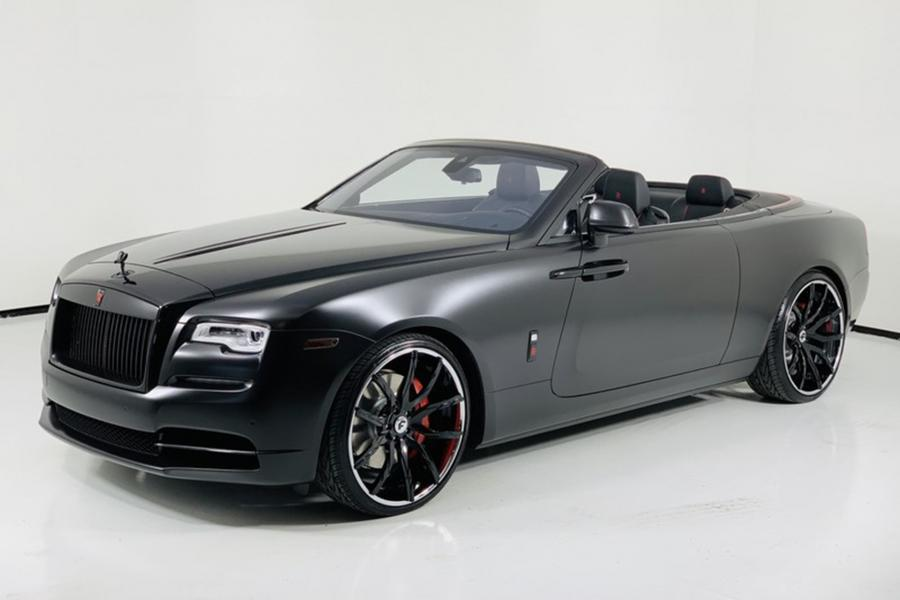 Rolls-Royce Dawn on Forgiato Wheels (Formato-ECL) '2019